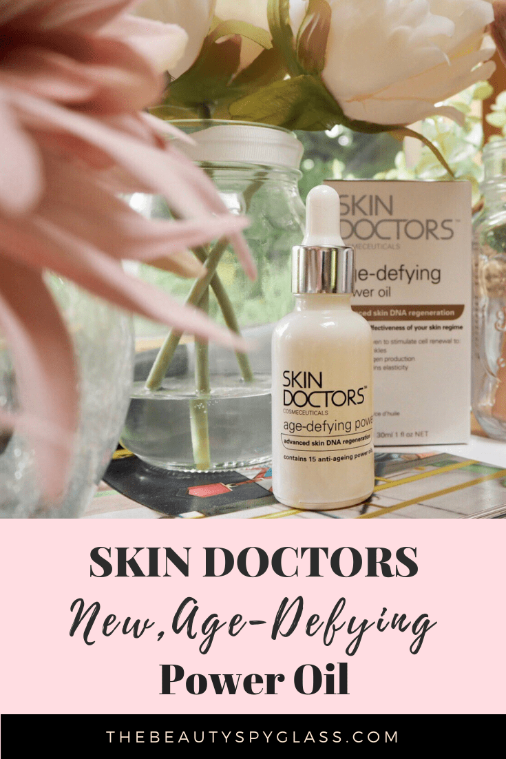 Skin Doctors new Age-Defying Power Oil