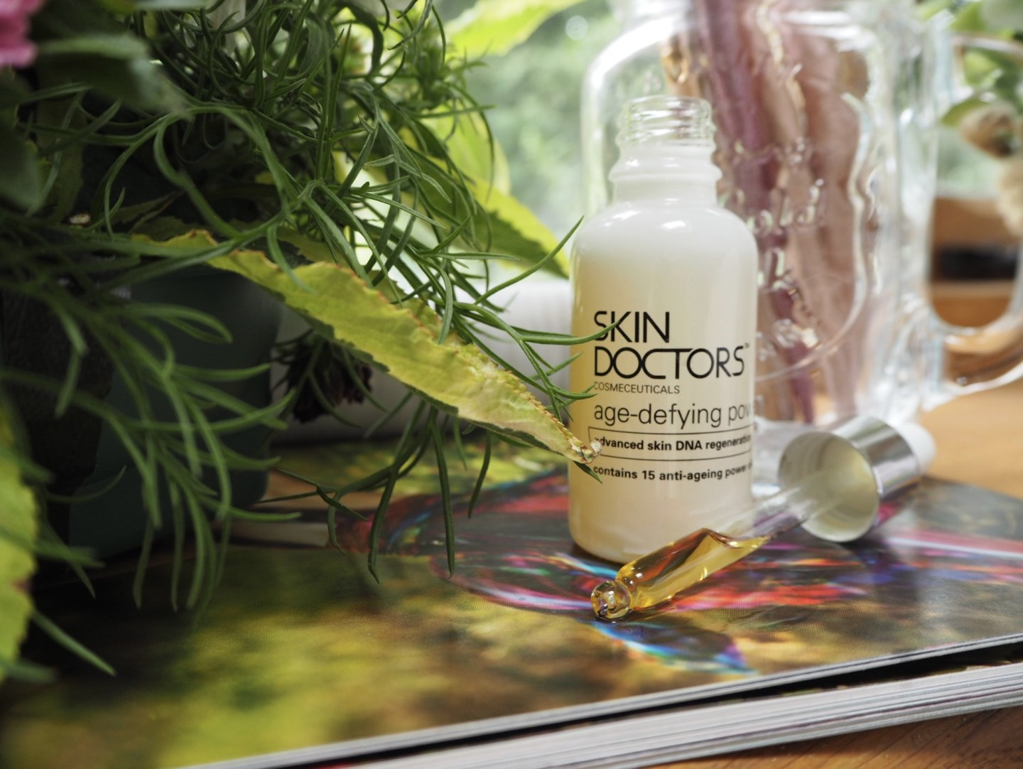 Defy your age with Skin Doctors Age-defying Power Oil