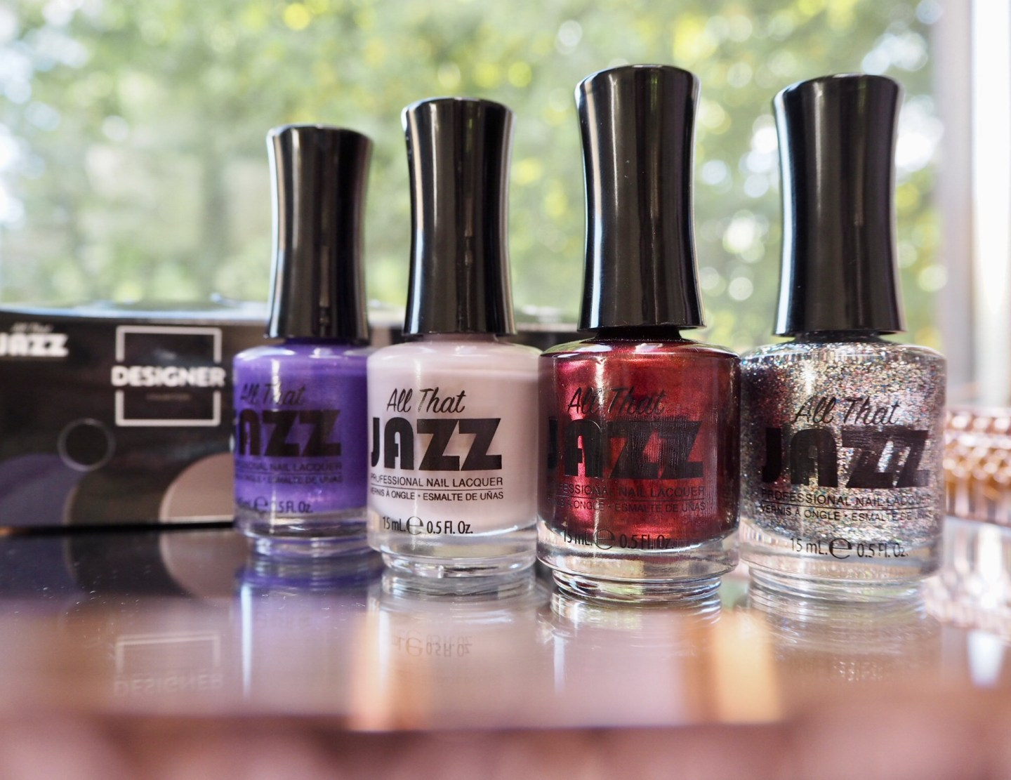 All that Jazz Nail Lacquer The Designer Collection