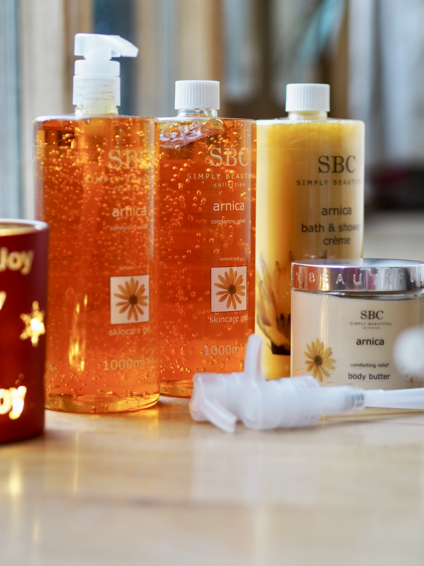 SBC arnica collection QVC TSV