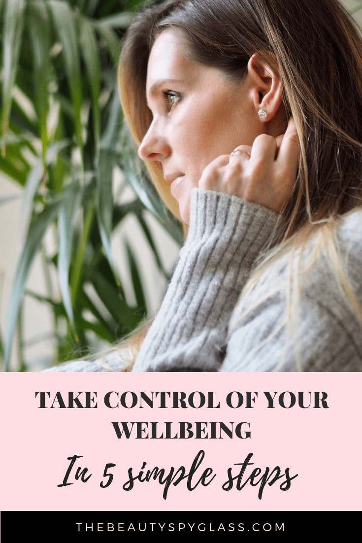 Take control of your wellbeing in 5 simple steps