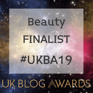 UK blog awards finalist badge