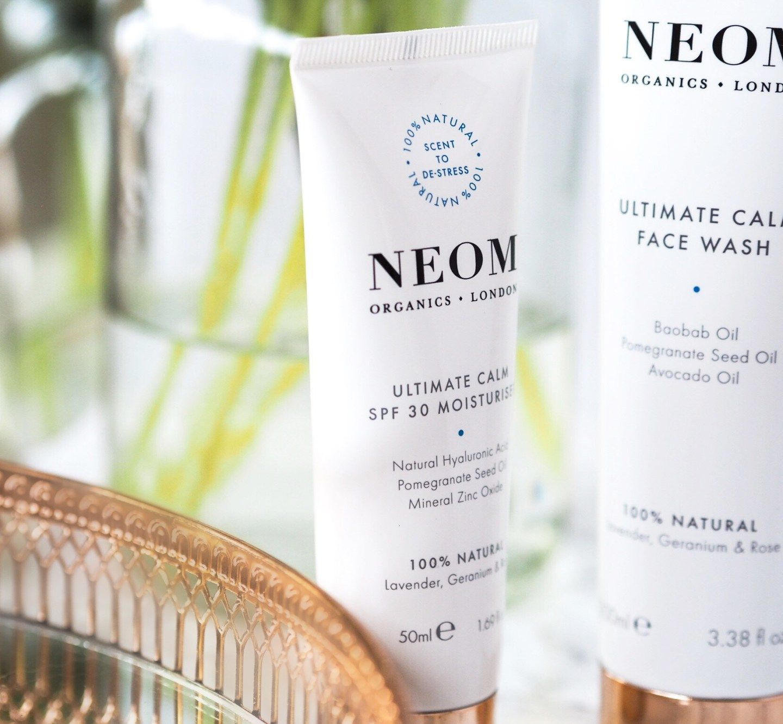NEOM Luxury Organics new Ultimate Calm skincare system The Beauty Spyglass