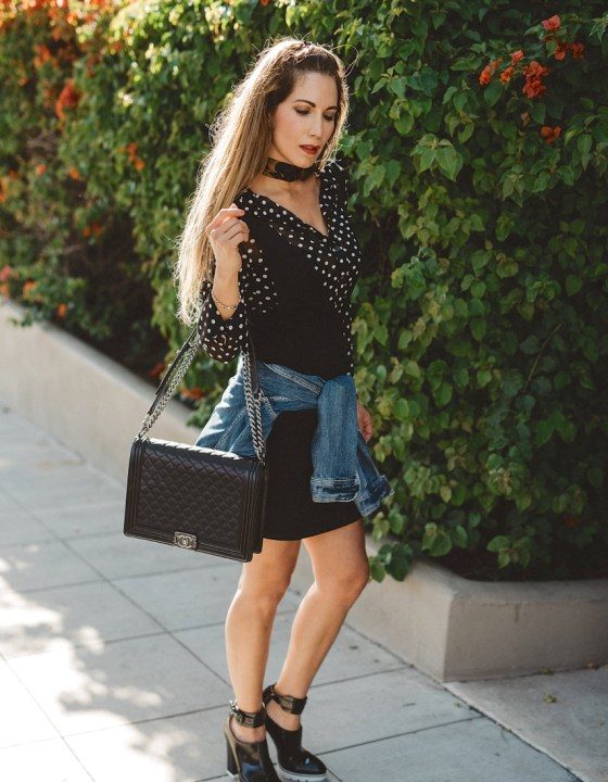 A DAY IN DOTS // CLASSIC AND GIRLY PRINT