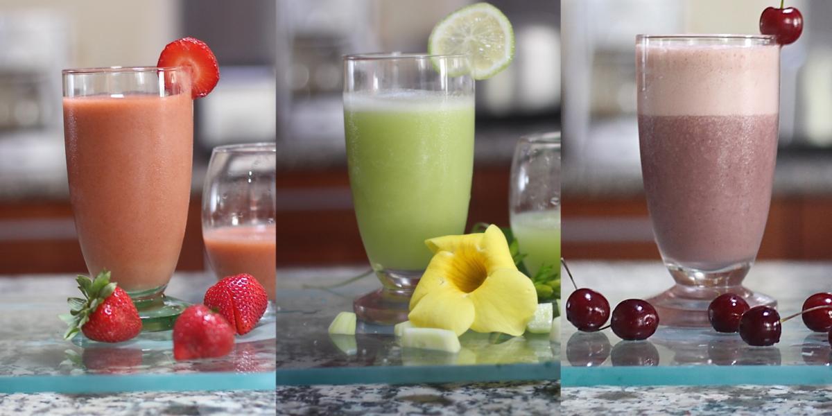 3 Fresh Smoothie Recipes To Feel Amazing