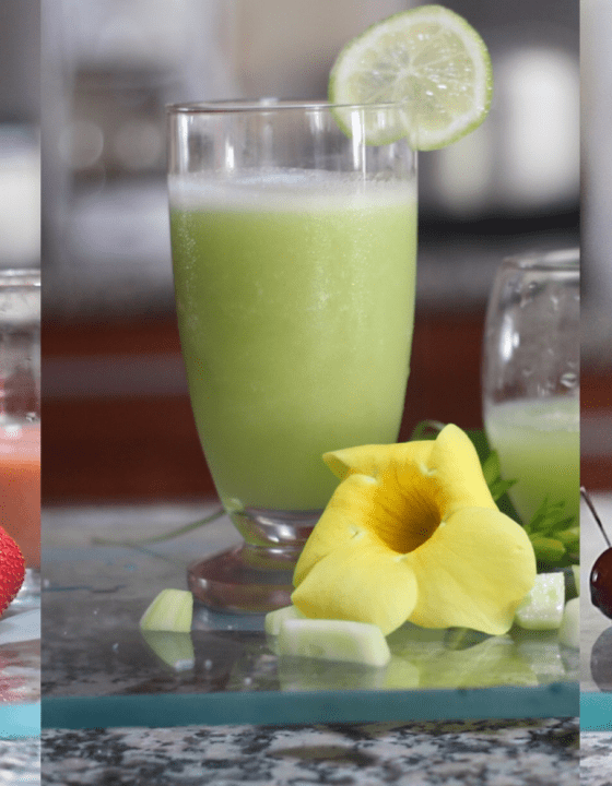3 Fresh Smoothie Recipes