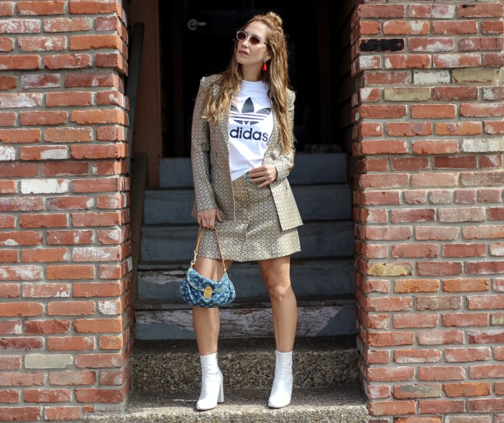 How To Style a Logo T-Shirt