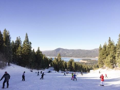 a view of Big Bear mountain