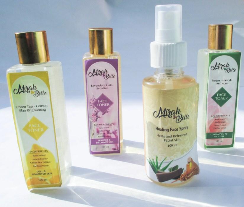Mirah Belle Face toner & Face Spray