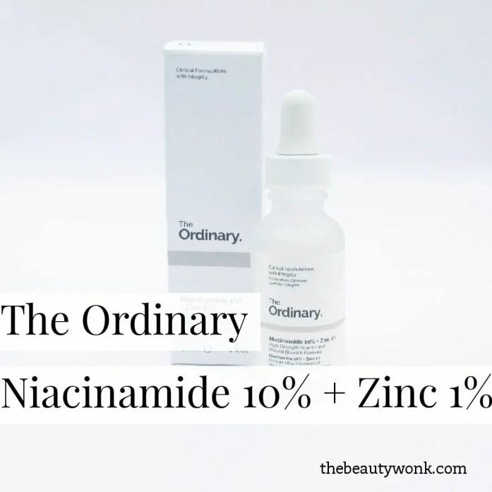 The Ordinary Niacinamide10%+Zinc1%