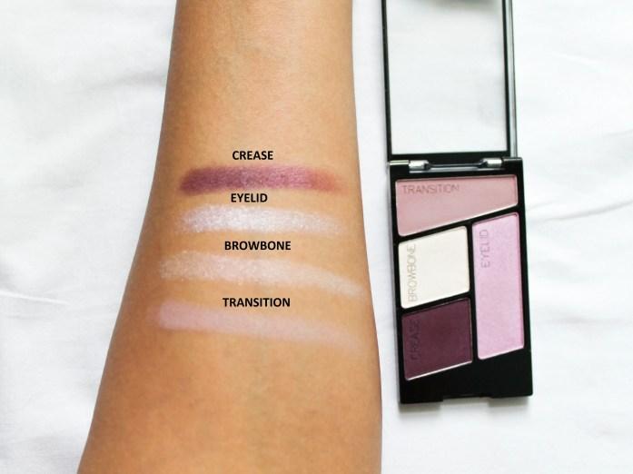 Wet n Wild Color Icon Eyeshadow Quad Petalette Shades