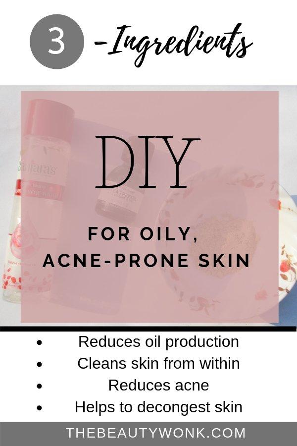DIY Facemask for Oily Skin