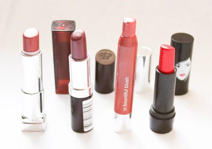 Project Pan & Declutter Lipsticks