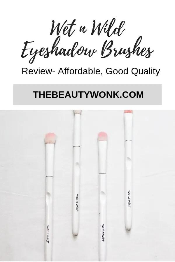 Wet N Wild Eyeshadow Brushes Review