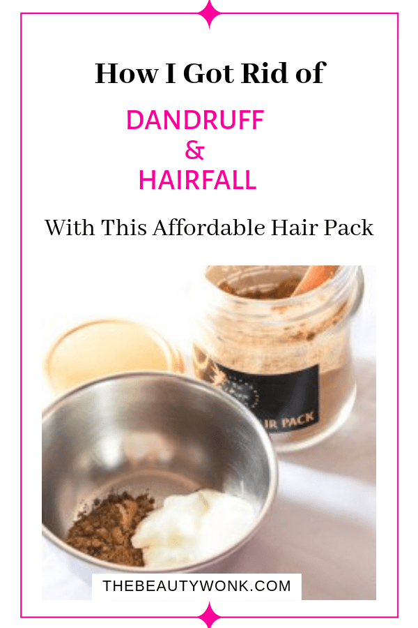 The Magic Potion Hair Pack For Dandruff and Hairfall