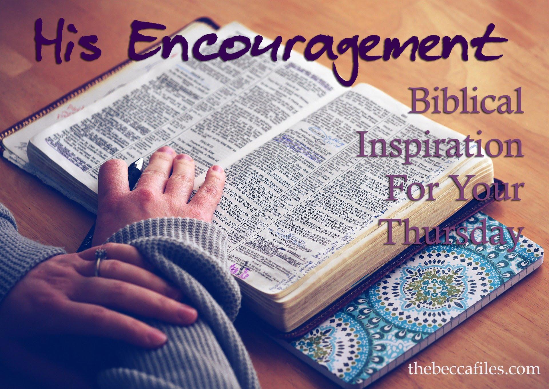 his-encouragement