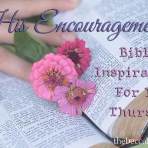 His Encouragement #85