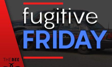 Fugitive Friday 8/24/18