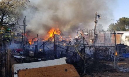 Kingman Home Goes Up In Flames