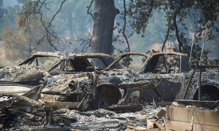California Wildfire Grows, 1,500 Under Evacuation Orders