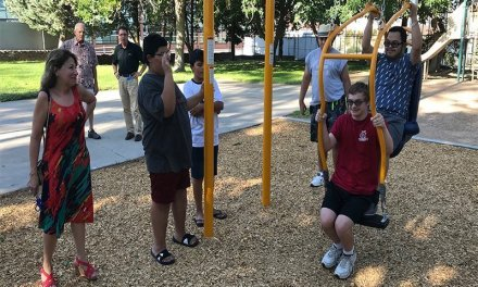 """Kingman Park Gets """"Expression Swing"""" For Disabled"""
