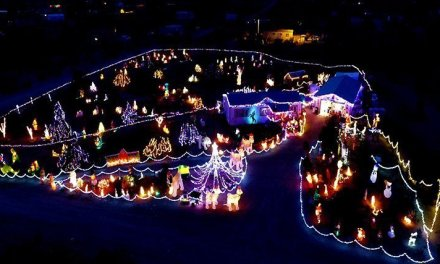 Meriwether's Holiday Light Show Ready For Visitors