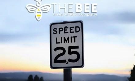 Speed Limit Change on Cherry Tree Boulevard