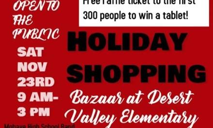 2nd Annual DV PTO's Holiday Shopping Bazaar