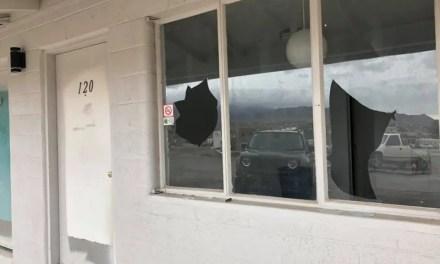 Hilltop Motel Vandalized on Christmas