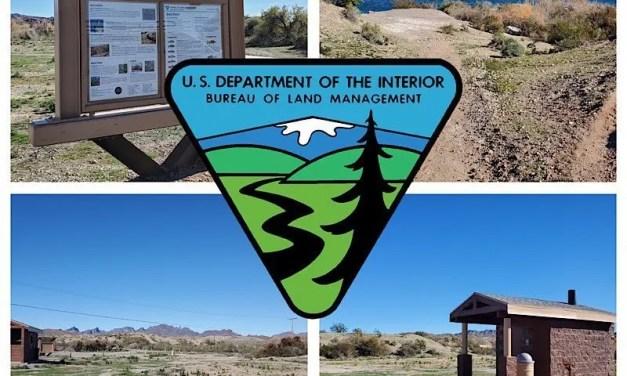 BLM completes recreational improvements along the Colorado River