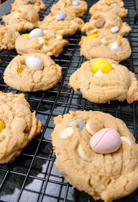 Mini-Egg Easter Candy Cookies