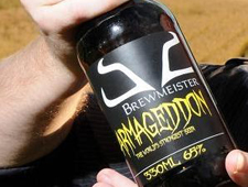 Armageddon – strongest beer in the world, or not?