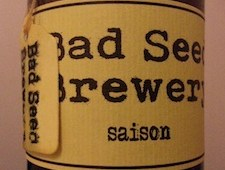 Best new beers of 2013…Bad Seed Saison