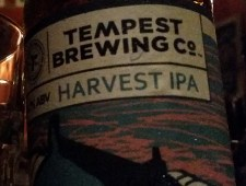 Best new beers of 2015…Tempest Harvest IPA