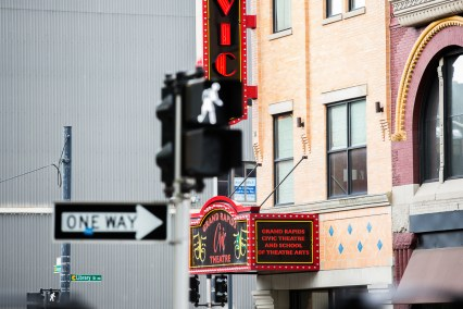 One way to the Civic Theater