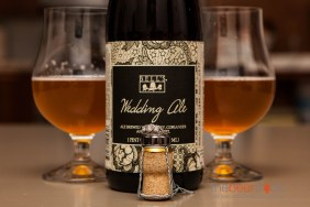 What better beer than Bell's Wedding Ale to share on our honeymoon.
