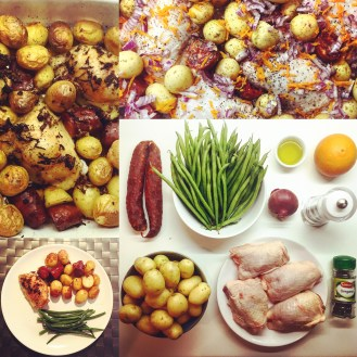 Chicken Chorizo Potatoes - The Beginner's Cookbook