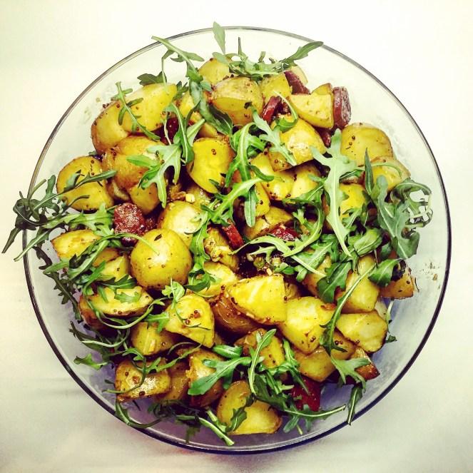 Chorizo & Roasted Potato Salad - The Beginner's Cookbook recipe