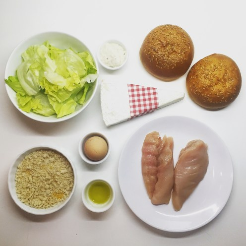 Easy Homemade French Chicken Burgers - The Beginner's Cookbook