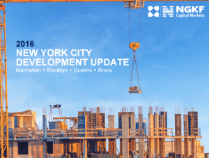 2016 New York City Development Update