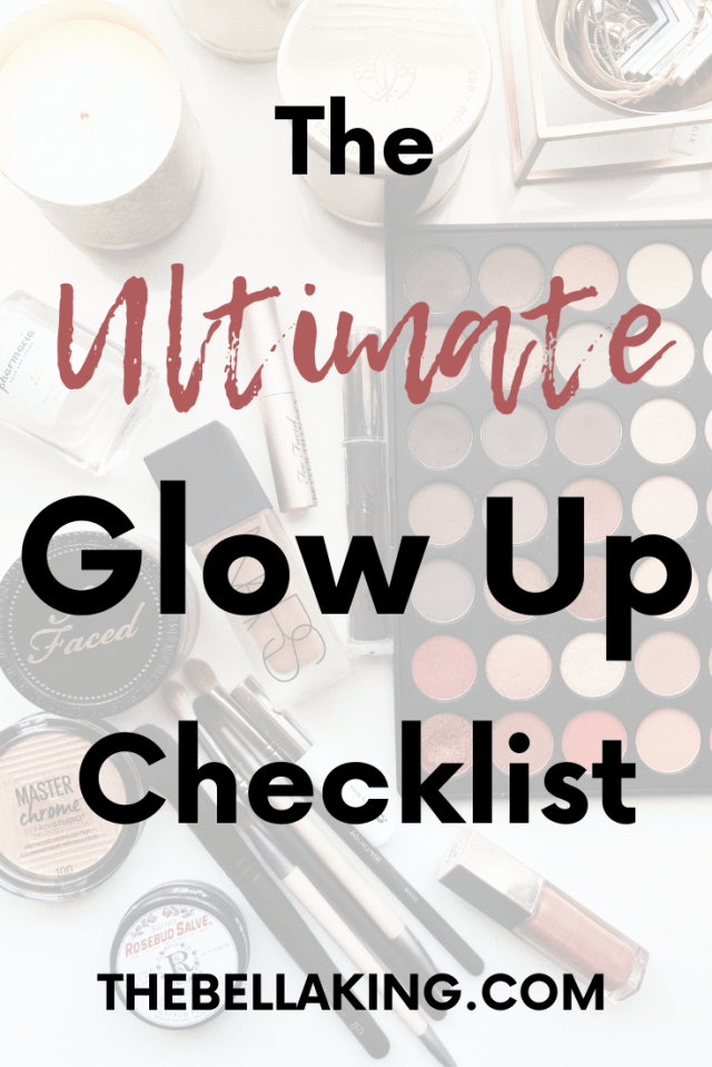 the ultimate glow up checklist for back to school
