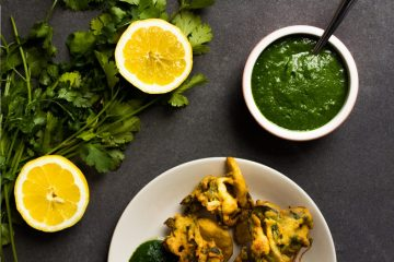 Fresh Coriander Chutney Recipe and Food Photography by Dharsika Finnemore, The Bellephant