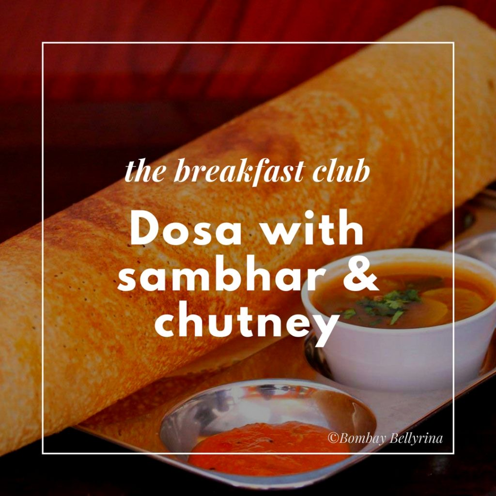 Healthy Options When Eating Out - Dosa