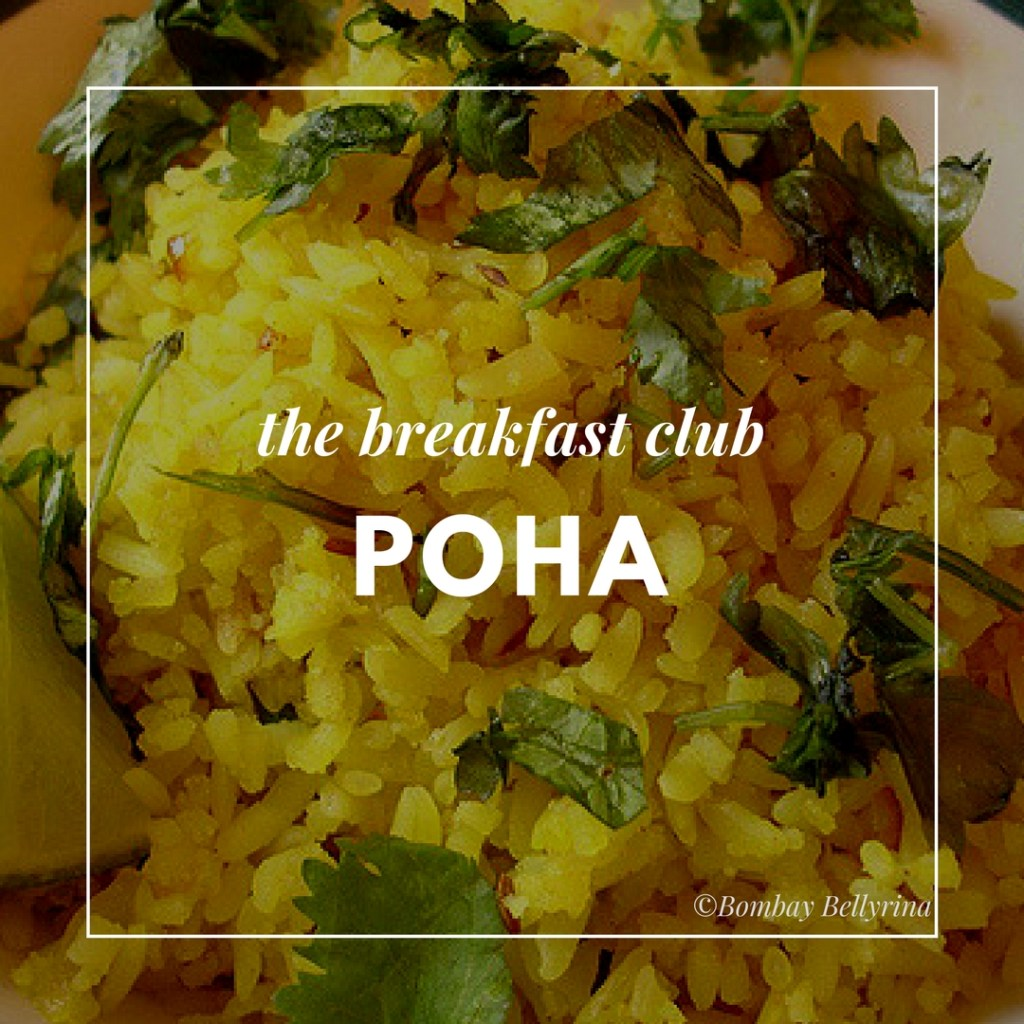 Healthy Options When Eating Out - Poha