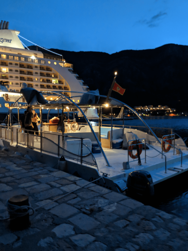 Dinner Cruise by Old Town Hostel Kotor | Travel in Montenegro | Bombay Bellyrina
