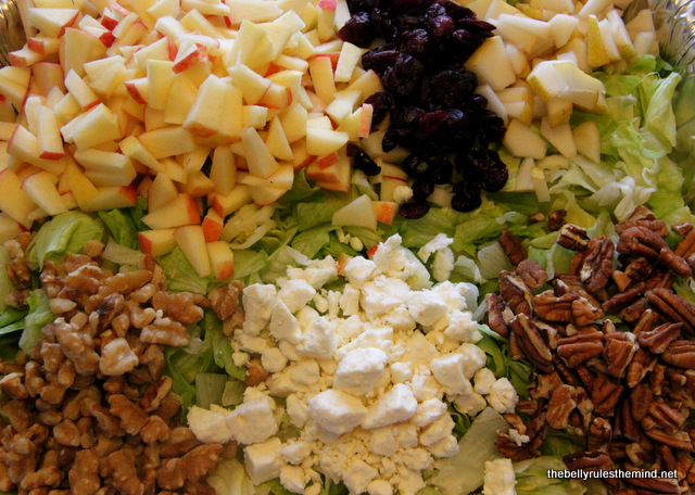 Autumn Salad for Potluck