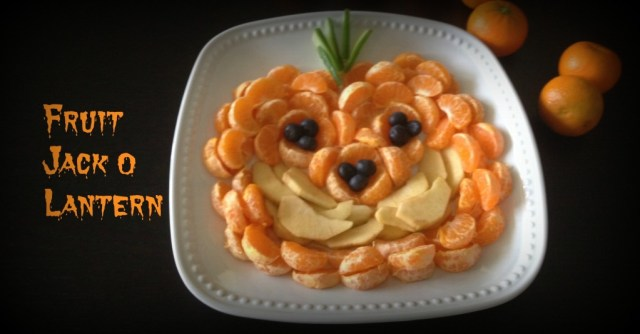 Fruit Jack O Lantern
