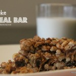 No Bake Cereal Bar
