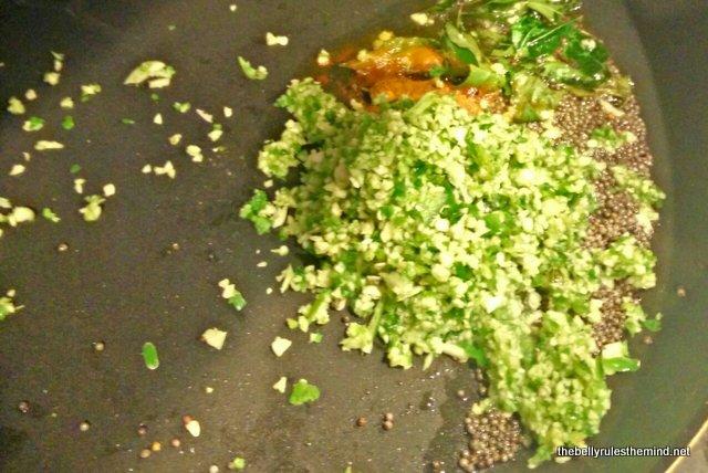 tempering for batata vada