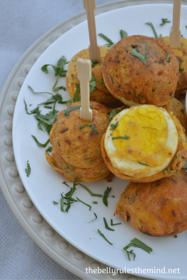 Egg pakoda-fritters ( made in appe pan) (2)